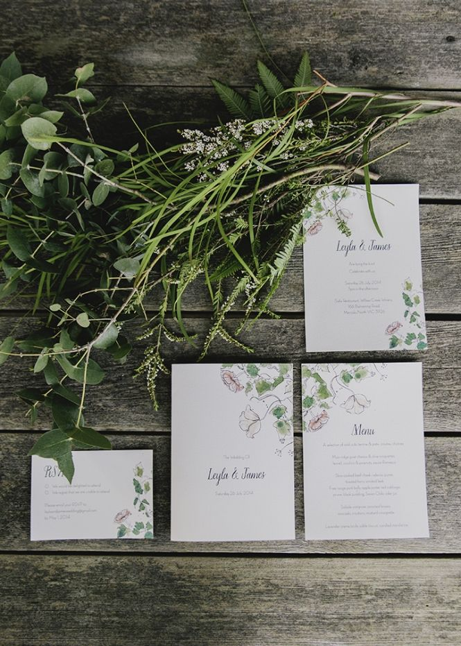 Vintage Bride ~ Vintage Among the Vines at Willow Creek Winery ~ Styling by Ivy & Oak Events ~ Stationery by Santiago Sunbird ~ Photography by Hello Darling Photography + Fox and Feather Photography ~ [vintagebridemag.com.au] ~ #vintagebride #vintagewedding #vintagebridemagazine