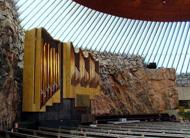 Rock Church in Helsinki, Finland