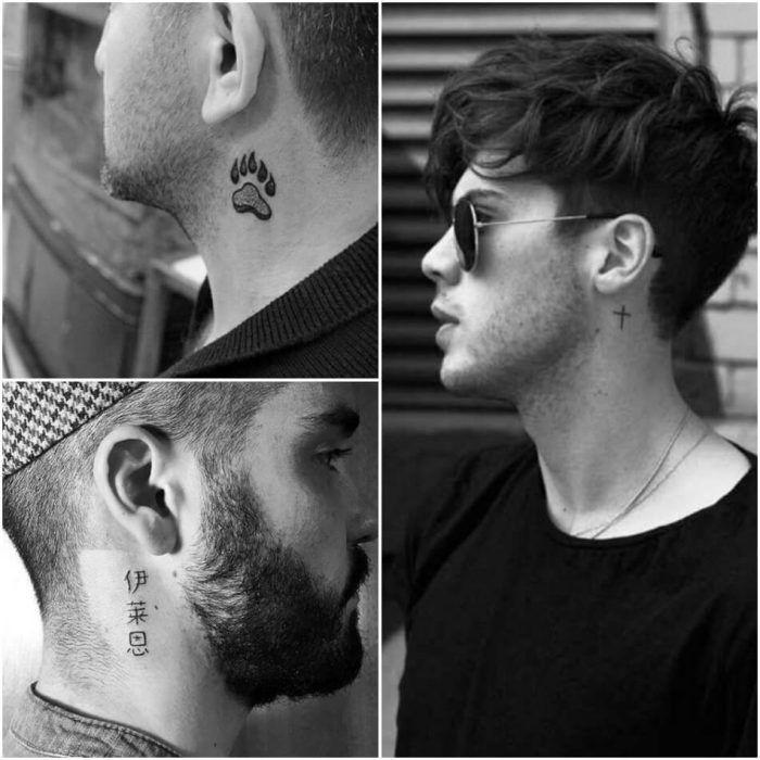 Best Neck Tattoo Ideas For Men Positivefox Com Neck Tattoo For Guys Small Neck Tattoos Side Neck Tattoo