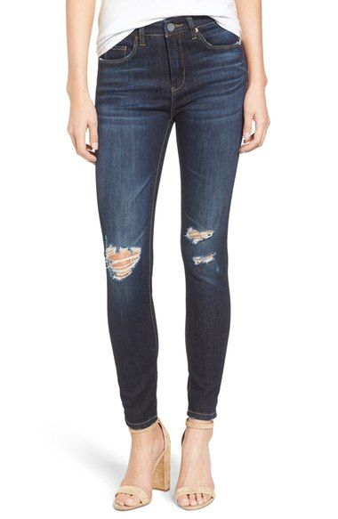 BLANKNYC Distressed Skinny Jeans (Fully Loaded) available at #Nordstrom
