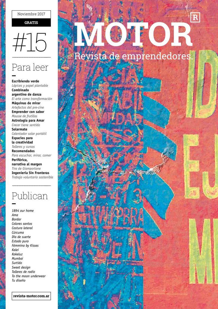 Costura Lateral en la edición #15 de Revista Motor