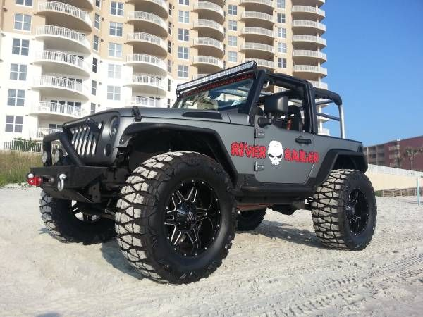 Give us a call for a sweet deal on this 2010 Custom Wrangler! Clear title / financing available.
