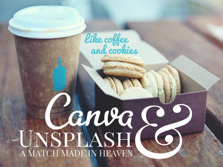 Presentoimisen Pelikirja: Canva & Unsplash, a match made in heaven