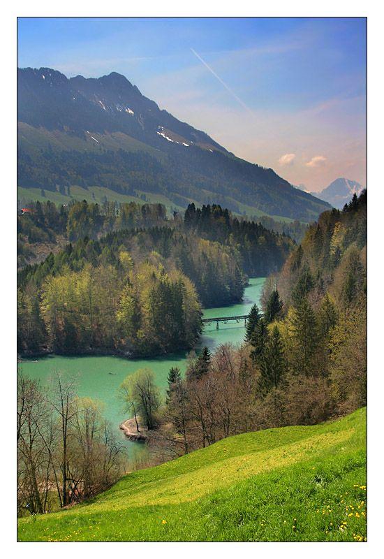Lac de Montsalvens, Fribourg