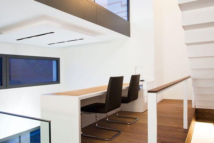 Auch in den Grundrissen lassen sich die spannenden Raumfolgen erfahren | Fuchs Wacker Architekten ©Johannes Vogt, Mannheim