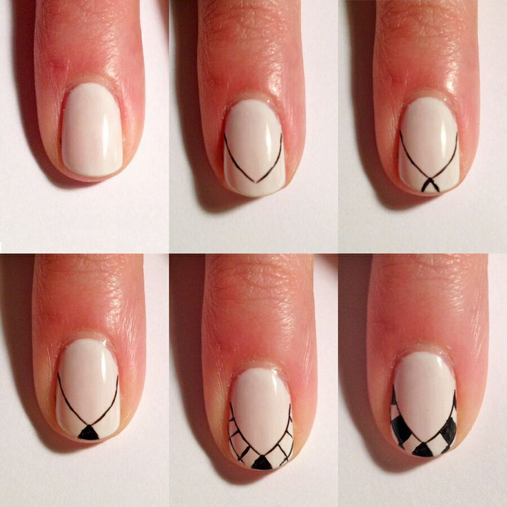 234 best nails step by step images on Pinterest