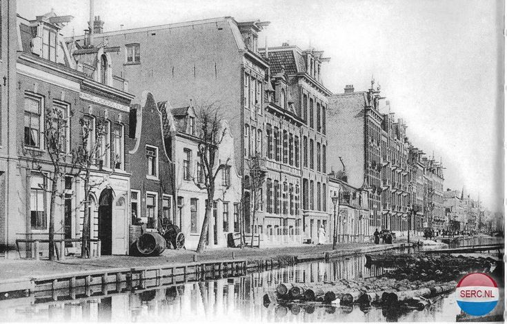 Amsterdam West: De Overtoomsevaart in 1906