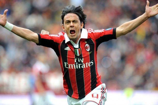 Inzaghi saluta il Milan con un gol