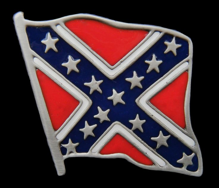 REBEL US USA CONFEDERATE ARMY CSA FLAG COOL BELT BUCKLE