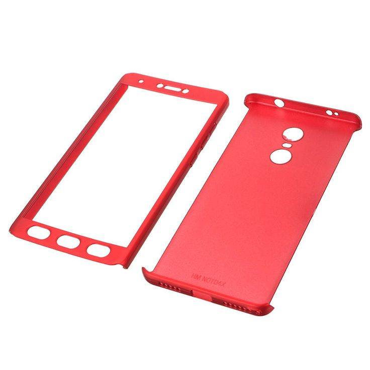 Bakeey™ 2 in 1 Double Dip 360° Full Protection Hard PC With Screen Case for Xiaomi Redmi Note 4X Sale - Banggood.com