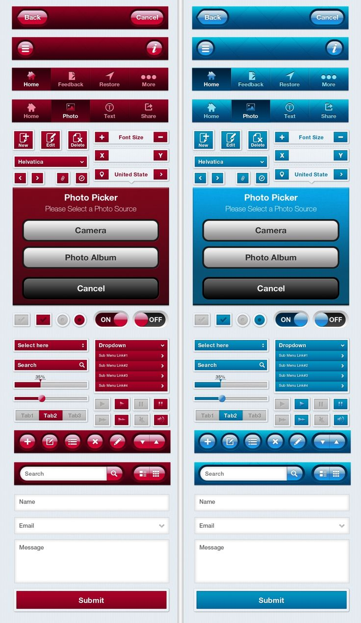 Awesome Mobile App UI Kit