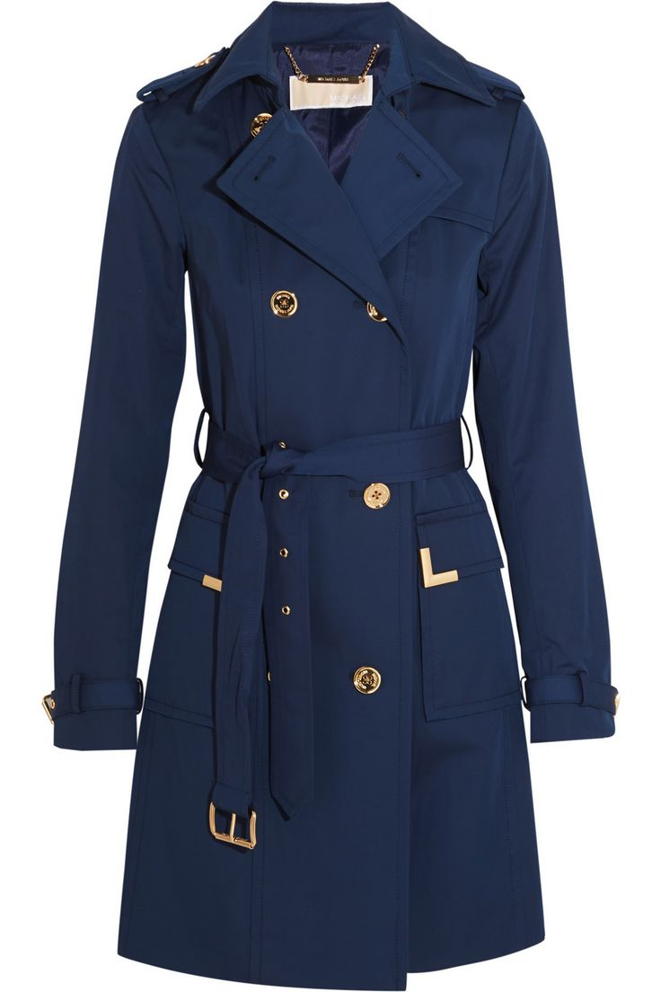 MICHAEL Michael Kors | Beverly cotton-blend trench coat | net-a-port...