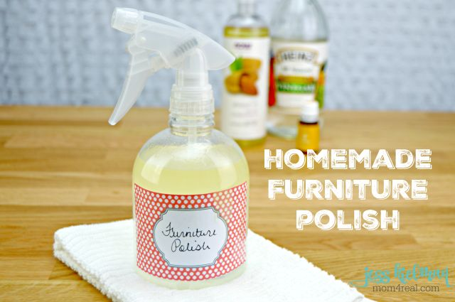 Homemade Furniture Polish With Video - Mom 4 Real