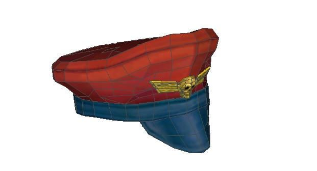 Street Fighter - Life Size M. Bison's Cap Free Papercraft Download - http://www.papercraftsquare.com/street-fighter-life-size-m-bisons-cap-free-papercraft-download.html#Cap, #LifeSize, #MBison, #StreetFighter
