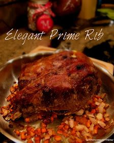 Sew what's cooking with Joan!: Slow roasted Rib roast.............yum!! Yorkshire pudding!