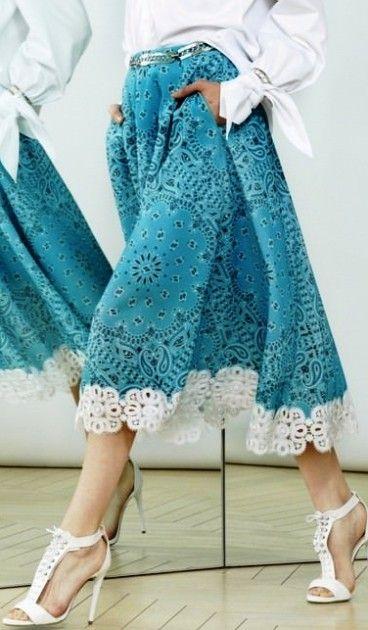 Шагать в ногу с модой! Модные юбки сезона лето 2016 -- воздушные, нежные, легкие и прекрасные!