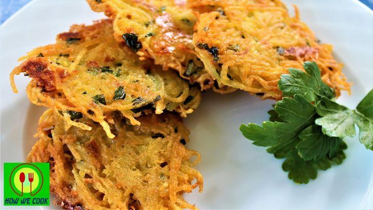 Драники с сыром как чипсы Короткий видео рецепт How we cook Patates mucv...