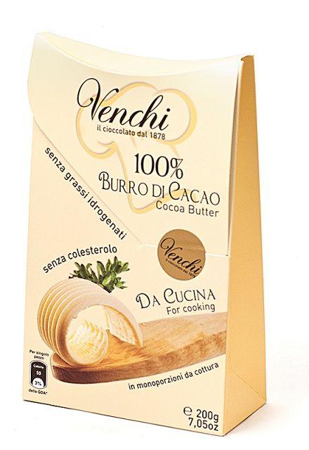 Venchi kakaové máslo 200g