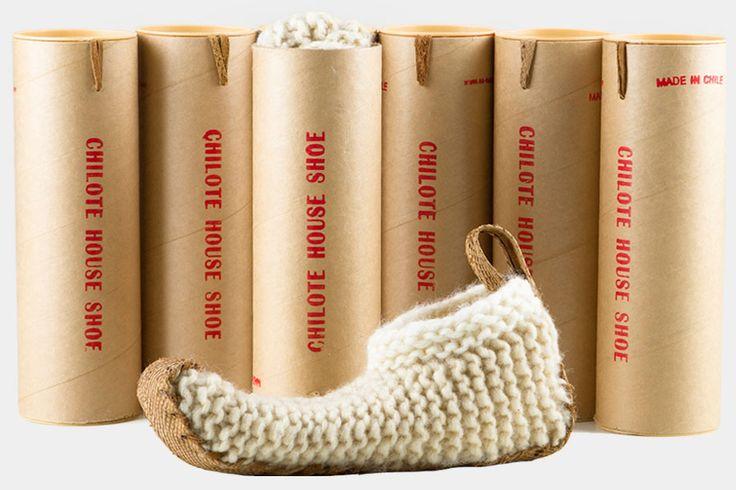 Chilote House Shoe  qué idea, no?!  y son preciosos además!