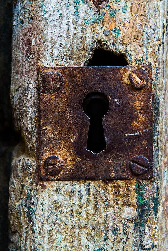 Rusty Lock by Giulia Rossi Photographer