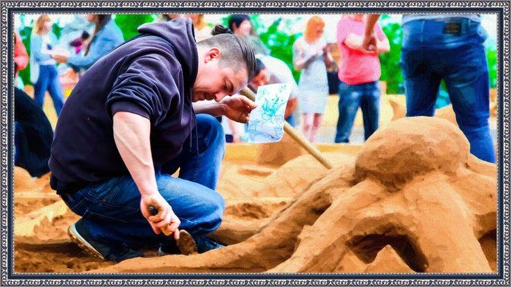 Фестиваль песчаных фигур | Ижевск 2017