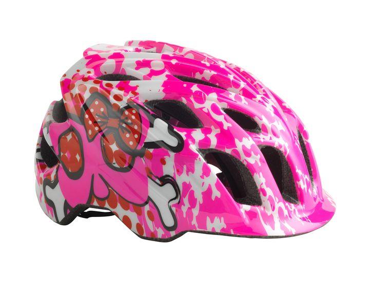 Kali Protectives CHAKRA Child Helmet Dots Pink/Purple #kaliprotectives #kalipro #kali #helmet #chakrachild #chakra #protectivegear #bike #bicycles #mowhawks #crossbone #blue #green #spiral #childhelmet