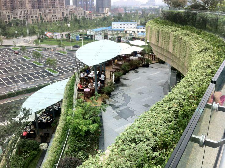 MixC Terracing Rooftop Garden · Rooftop GardensProposalShopping MallRooftopsShopping  CenterRoof GardensRooftop