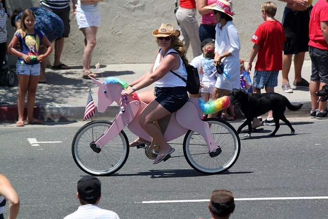 Unicorn Bike - Huntington Beach, CA by tossmeanote, via Flickr