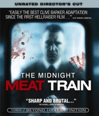 The Midnight Meat Train (2008) movie #poster, #tshirt, #mousepad, #movieposters2