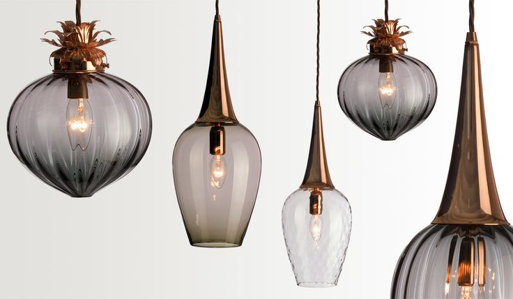 Pendant lights by Rothschild & Bickers - Flora Pendant & Retro Light