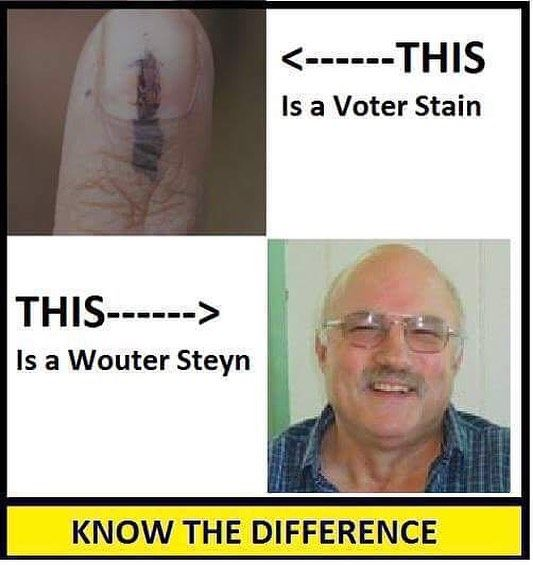 Know the difference! Vote! #elections #2016 #southafrica #shit_sa_say  Thanks @cornel_steyn