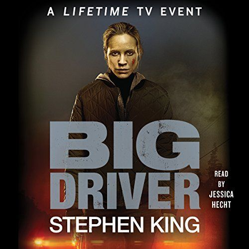 """Another must-listen from my #AudibleApp: """"Big Driver"""" by Stephen King, narrated by Jessica Hecht."""