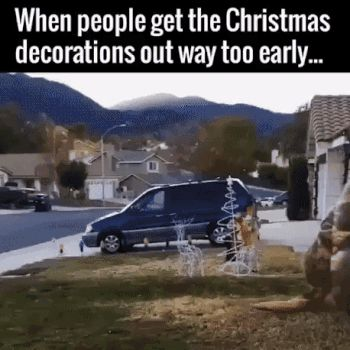 early, christmas, decoration, trex GIF