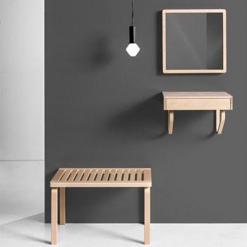 Artek 114B wall drawer, white | Bookcases | Furniture | Finnish Design Shop