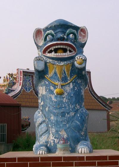 台湾・金門島の永遠の守護神 自然信仰が生んだ風の神『風獅爺』