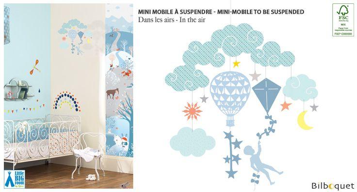 Mini mobile Dans les airs - Little Big Room Little Big Room by Djeco