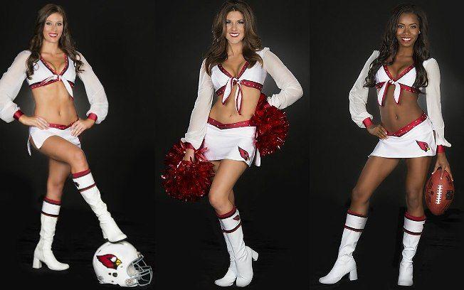 Elas animam a torcida e comemoram o touchdown. Veja as cheerleaders da NFL - Mundo Masculino - iG