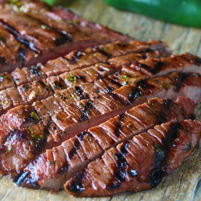 Authentic Carne Asada | Recipe | Marinated flank steak ...