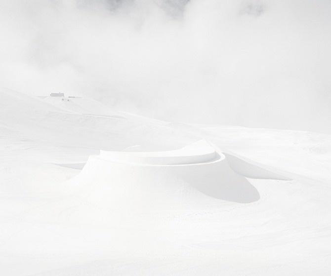 Philippe Fragnière: Snowpark - Thisispaper Magazine