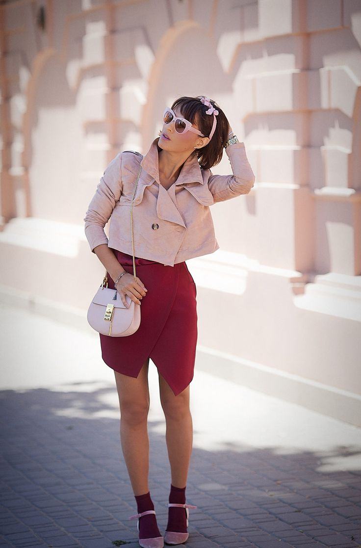 asos-marsala-mini-skirt_choies-cropped-trench_summer-outfit-ideas