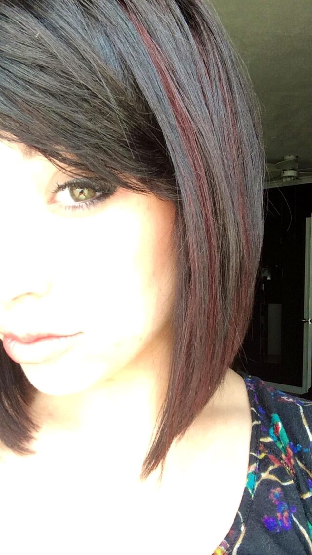 Best 25 red peekaboo highlights ideas on pinterest dark hair red peekaboo highlights and red hair pmusecretfo Image collections