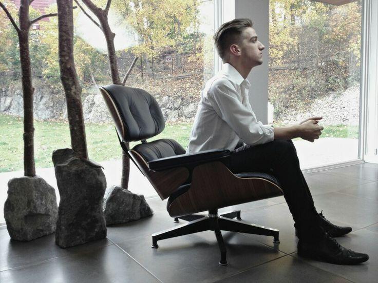 Eames. Lounge chair. Handsome. Hehehehe