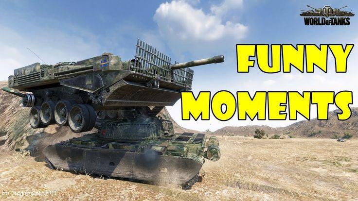 World of Tanks - Funny Moments   Week 4 September 2017