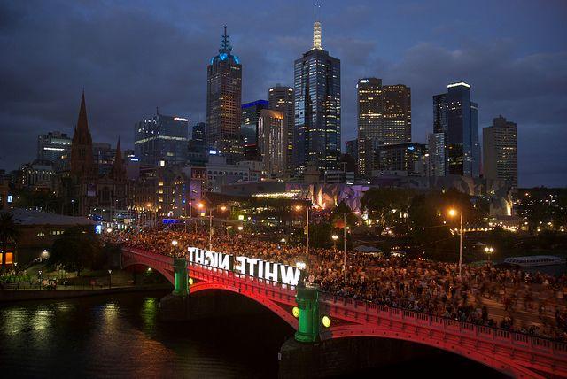 White Night, Melbourne 2014.
