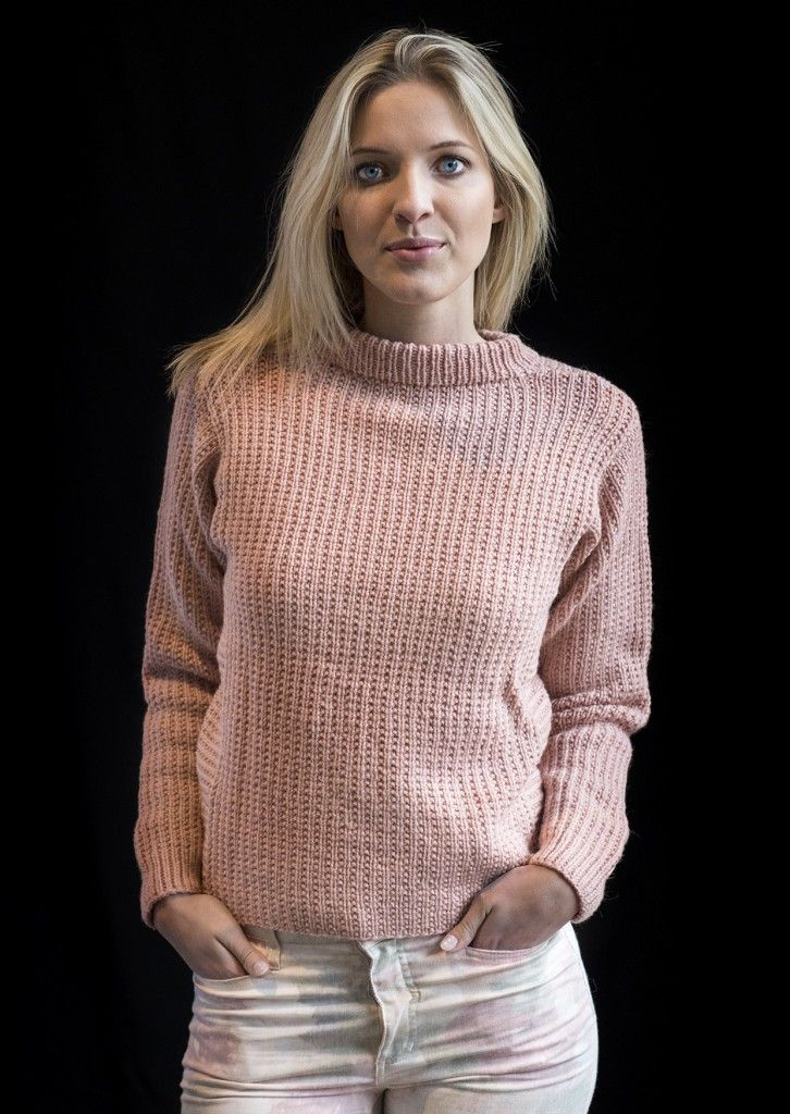 1475: Sweater i Mayflower Easy Care. [Strikkeopskrift, Garn, Pattern, Knitting, Spring/summer 2016]