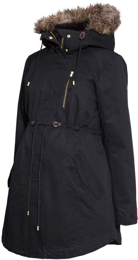 H&M maternity winter coat