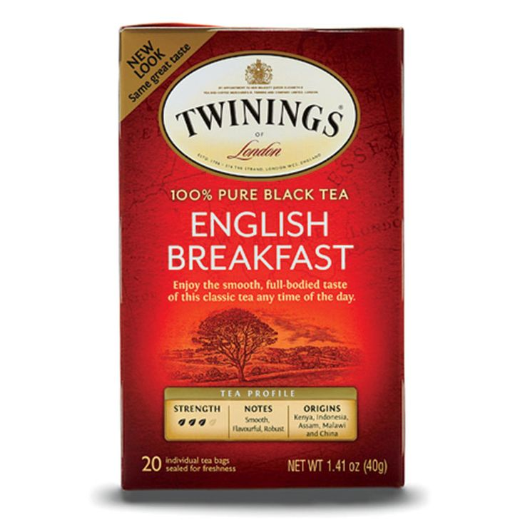 Twinings English Breakfast Tea http://www.womenshealthmag.com/food/best-grab-and-go-supermarket-foods/twinings-english-breakfast-tea