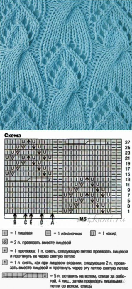 Knitting Patterns...♥ Deniz ♥