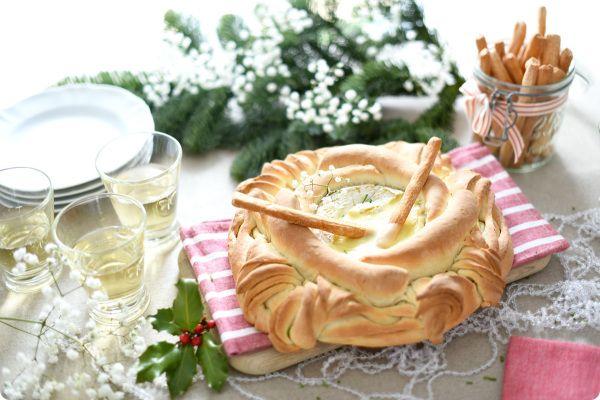 Pan Camembert, con queso fundido   Velocidad Cuchara