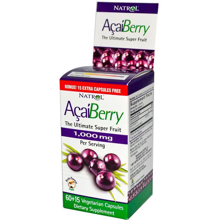 Описание Exotic Berry from the Amazon Rain Forest Powerful Antioxidant Berry Bonus! 15 Extra Capsules Free 1,000 mg Per Serving Rain Forest ...